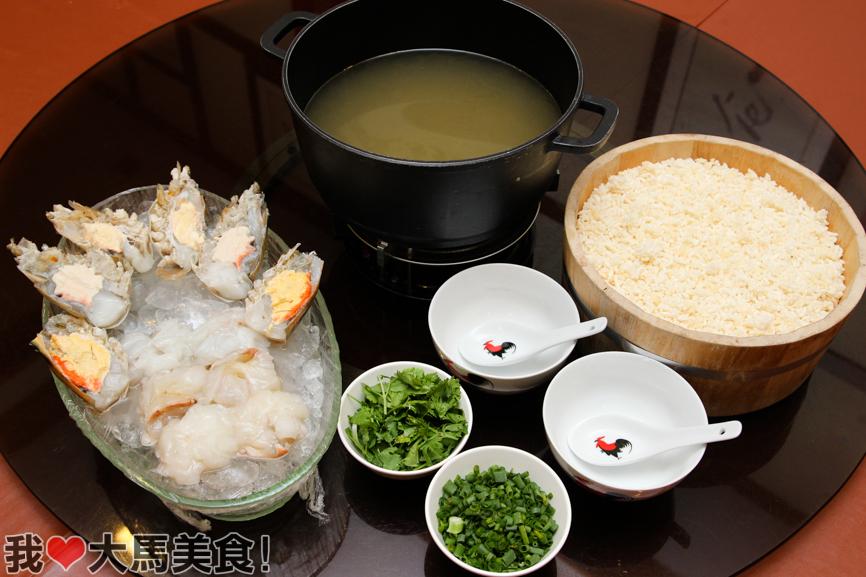 北海饭店, 生虾泡饭, beihai seafood restaurant, selayang, selangor, river prawn boiled rice