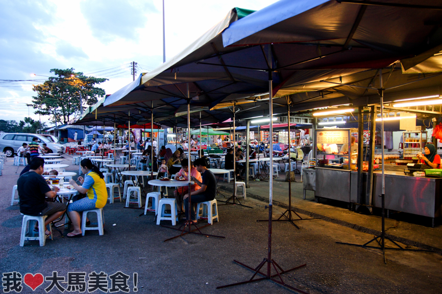 炒粿条, 文良港, mali's corner, wangsa maju, setapak, char koay teow, taman bunga raya