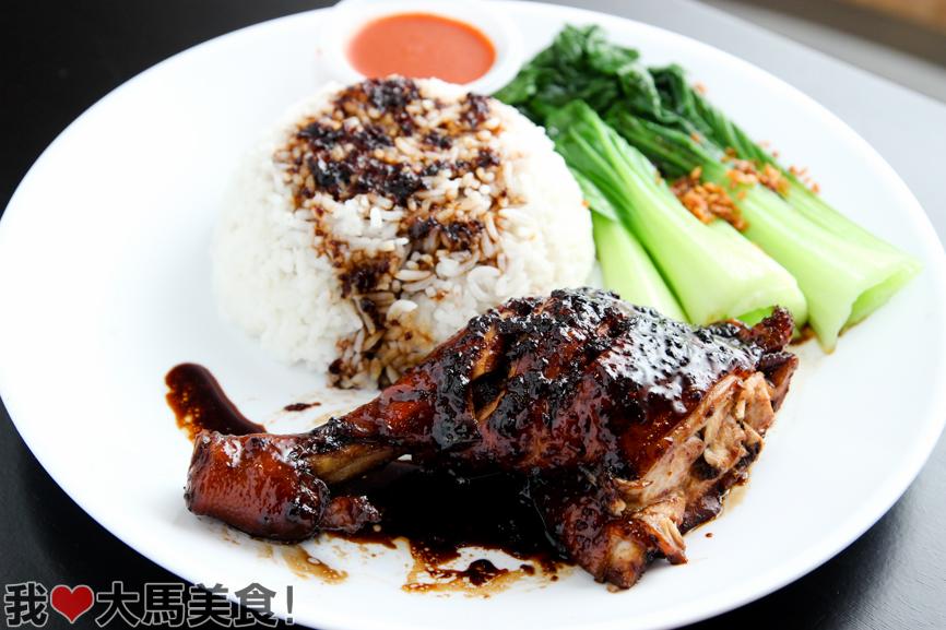 酱油鸡饭, 同乡美食坊, 餐厅, 甲洞, tong siang, kepong, desa aman puri