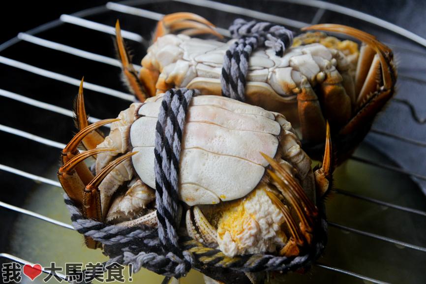清蒸大闸蟹, 马来西亚, 吉隆坡, hairy crab, iwc aquastic, kuchai lama, kl