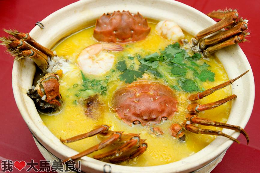 大闸蟹砂煲粥, 大闸蟹, 马来西亚, 吉隆坡, hairy crab, iwc aquastic, kuchai lama, kl