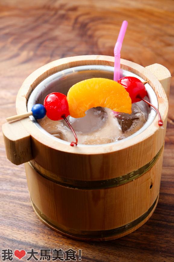 鸡尾酒, 日本料理, 餐厅, manmaru, robatayaki & bar, atria, mall, japanese, restaurant