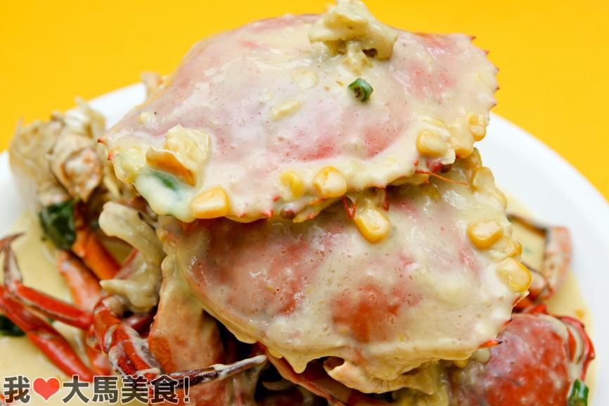 玉米奶油蟹, 蟹的传人, 海鲜, 螃蟹, crab generation, taman len sen, cheras