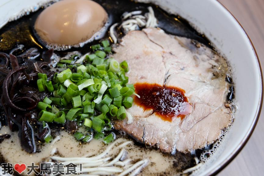 black garlic pork soup ramen, 日本拉面, 大门, da:mén, shopping mall, usj, subang jaya, pj, crazy ramen onizo