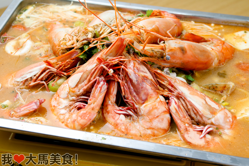 招牌烤三鲜, 明虾, 半山芭, 发记招牌特色烤鱼, fatt kee, roast fish, jalan seladang, pudu, kl