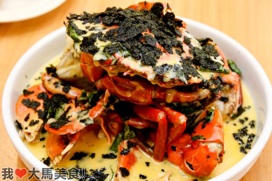 日式紫菜奶油蟹, 蟹的传人, 海鲜, 螃蟹, crab generation, taman len sen, cheras