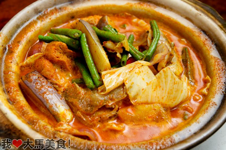 咖喱鱼头, 聚一聚小菜馆, 餐厅, 家乡小菜, seri kembangan, gather gather kitchen, restaurant