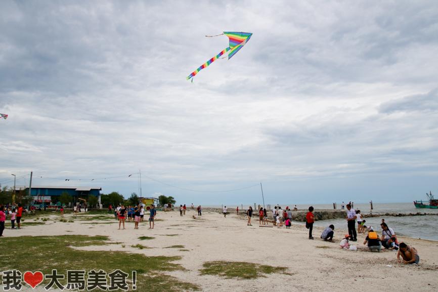 热浪沙滩, 适耕庄, 红毛港, 渔港, sekinchan, travel, seafood, fishing village, selangor, cuti cuti malaysia
