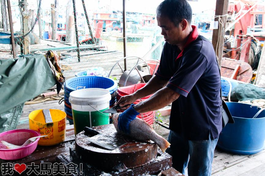 海鲜, 适耕庄, 红毛港, 渔港, sekinchan, travel, seafood, fishing village, selangor, cuti cuti malaysia