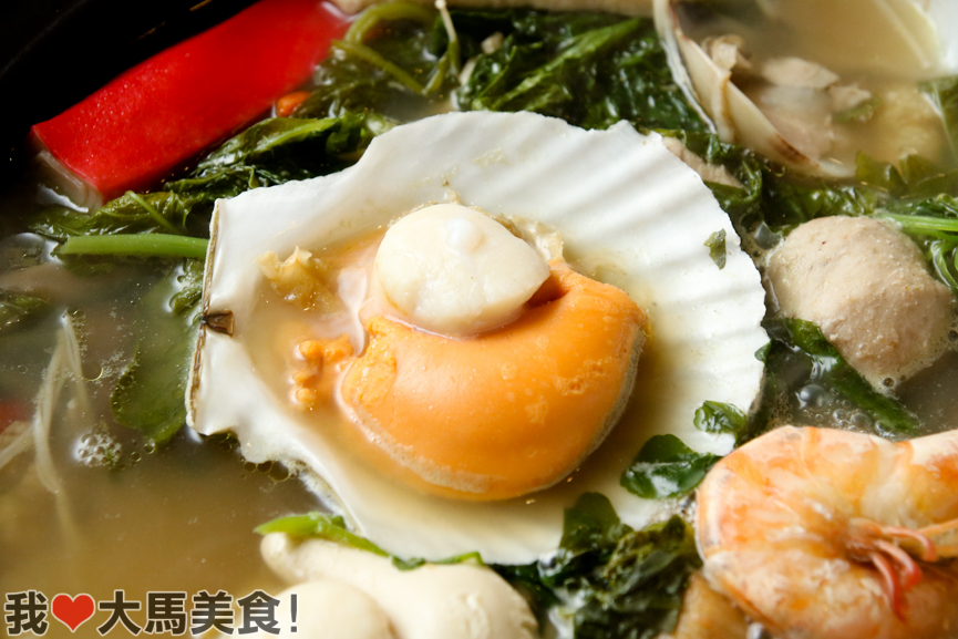 扇贝, 西洋骨, 火锅, 蒲种, 美食, watercress bone, steamboat, bandar puteri, puchong, the cube