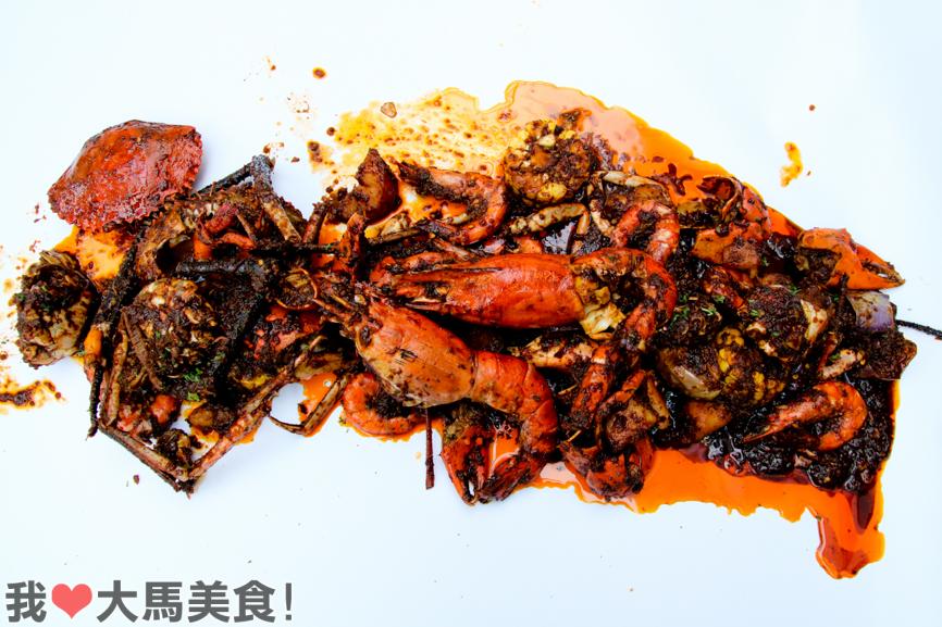 手抓海鲜, 蒲种, 美食, sector 7, seafood, puchong, setiawalk, selangor