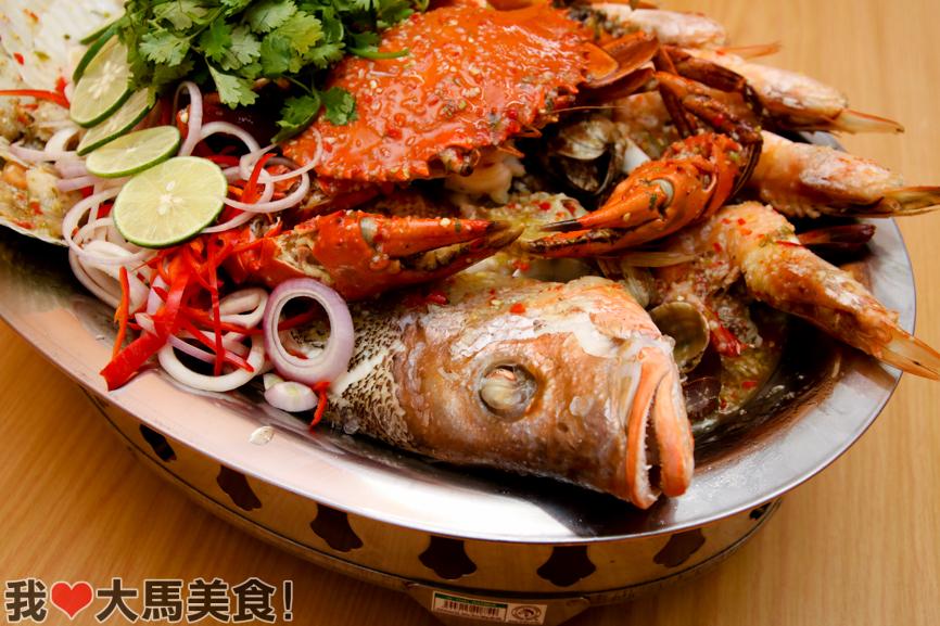 海鲜大拼盘, 肥肥蟹, fei fei crab, damansara jaya, pj
