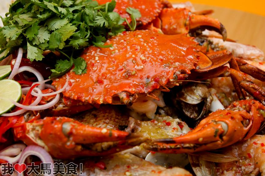螃蟹, 肥肥蟹, fei fei crab, damansara jaya, pj